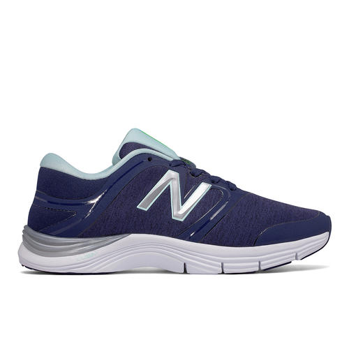 Womens New Balance 711 Gym Trainer Navy/Mint in Blue ...