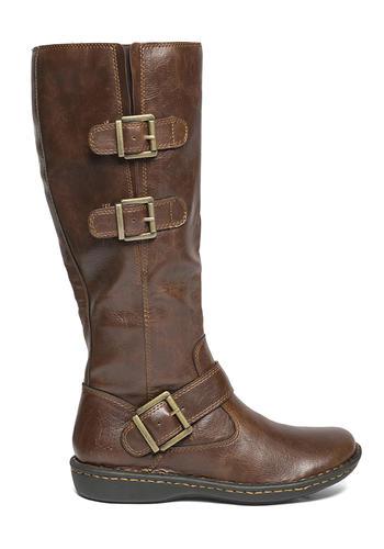 Womens Boc Virginia Side Zip Boot Coffee